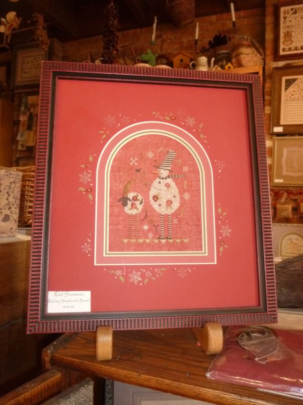 Red Snowman Kit