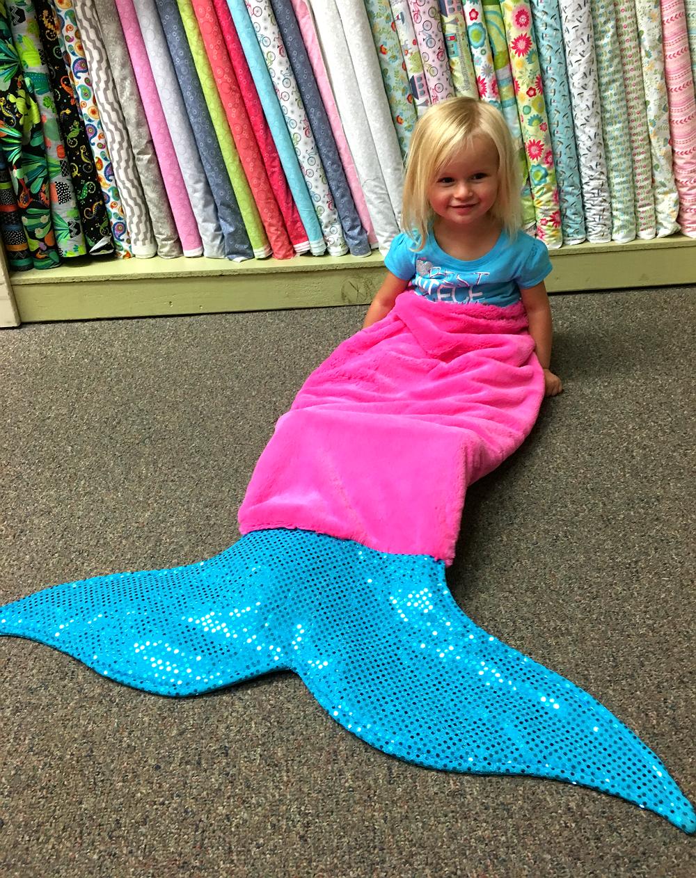 Specialty Classes Mermaid Tail Snuggie