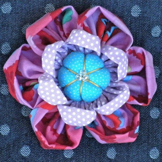 Kafflower Brooch- LT