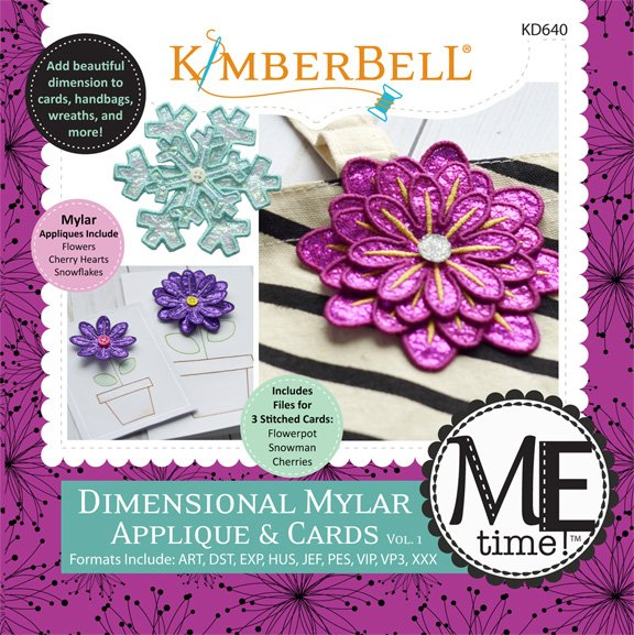 Dimensional Mylar Applique & Cards