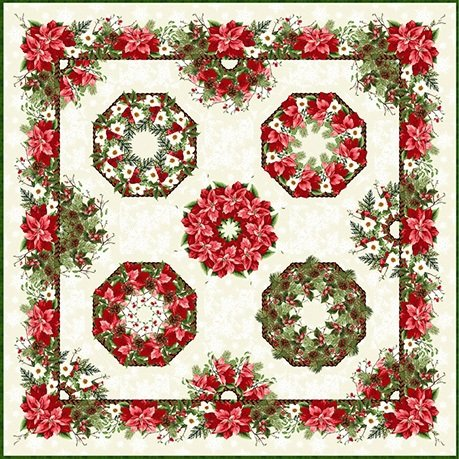 One-Fabric Kaleidoscope Kit