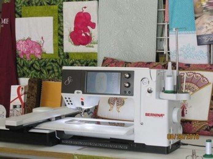 basic bernina sewing machine