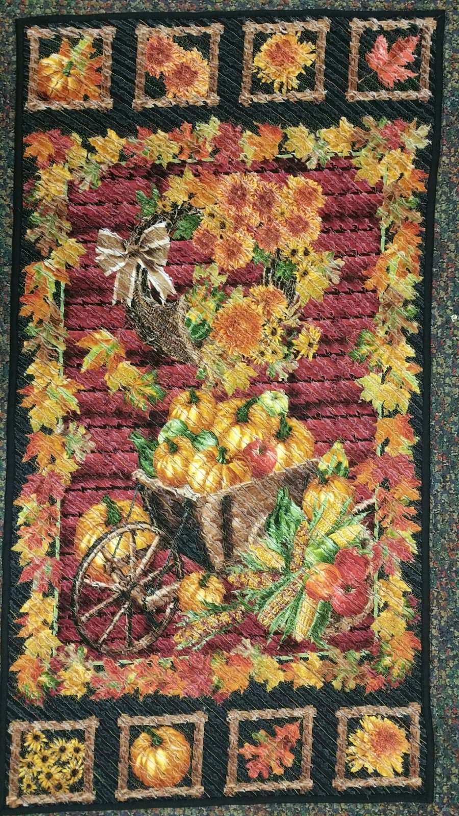 Chenille Fall Quilt Kit ON SALE! WAS $48 NOW $39.99
