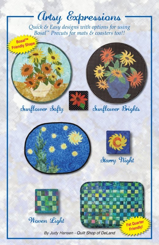 Artsy Expressions Pattern by Judy Hansen