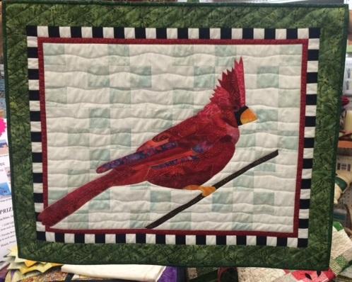 BJ Designs  Simply Scarlet Cardinal