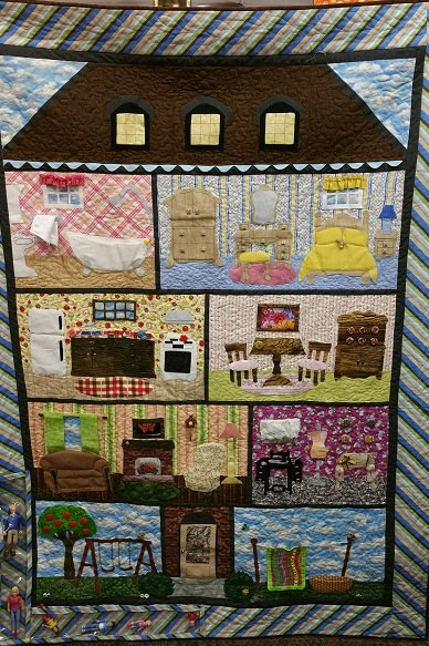 Doll House Quilt Pattern