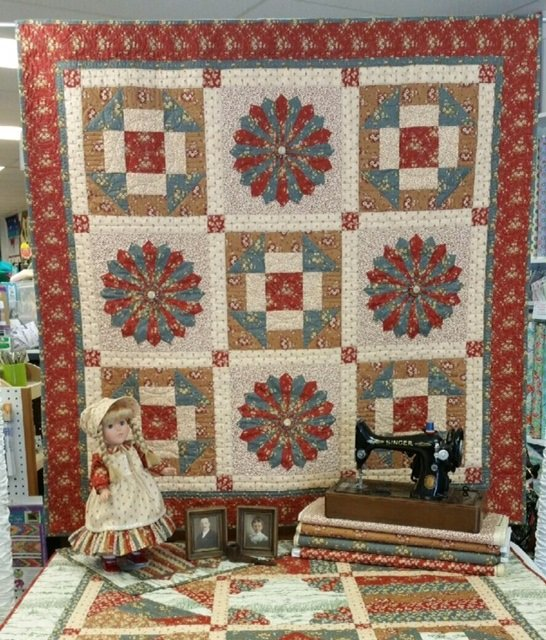 Dresden Woods Quilt Fabric Kit
