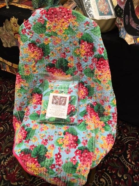 all over floral chenille kit