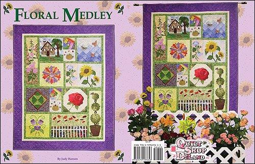 Floral Medley  by Judy Hansen
