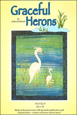 Graceful Herons - Wall Quilt (60x49)