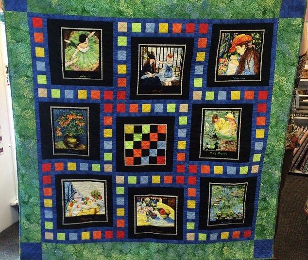 Impressionist Quilt Kit On Sale!