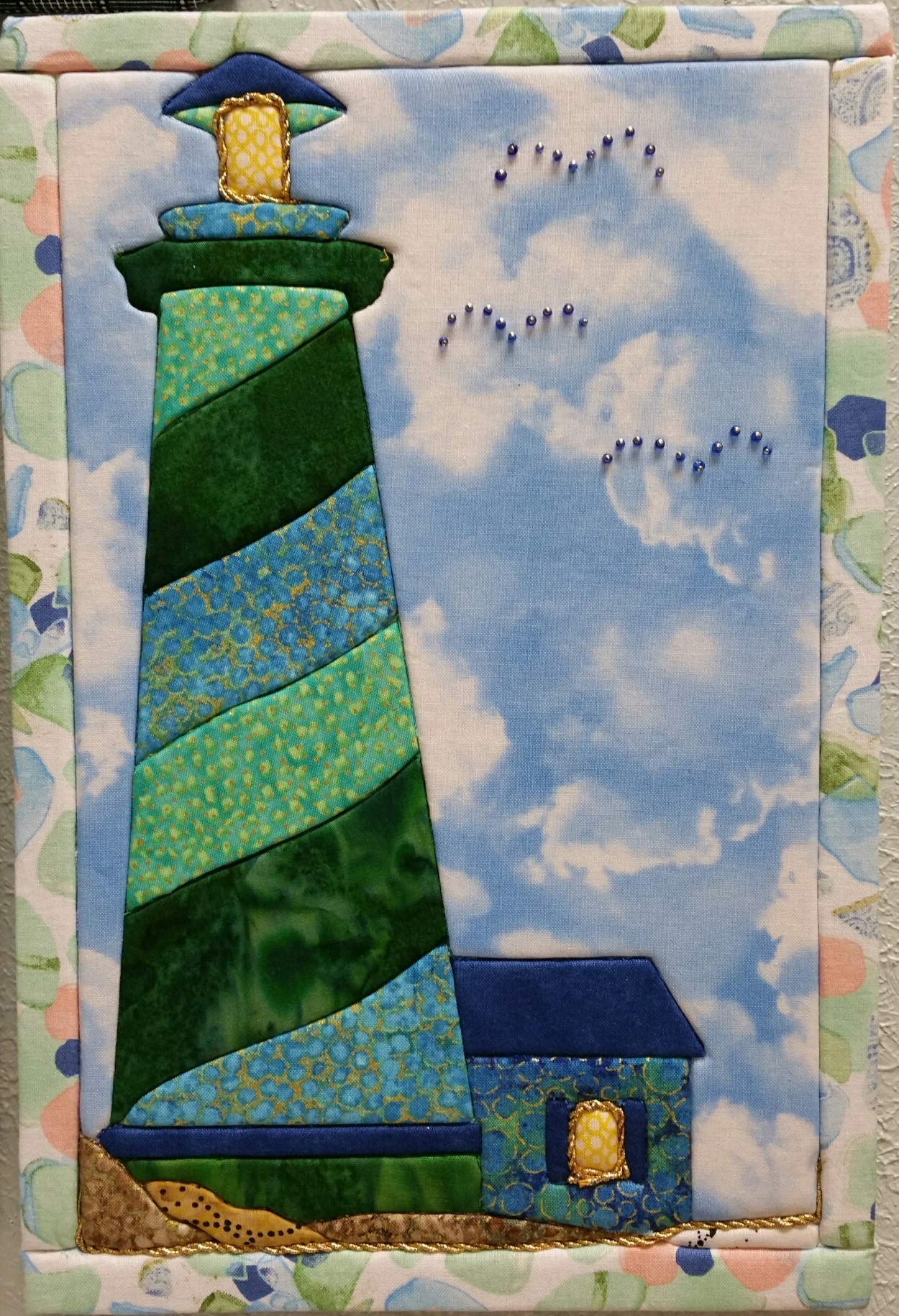 Lighthouse Art Board and Fabric kit