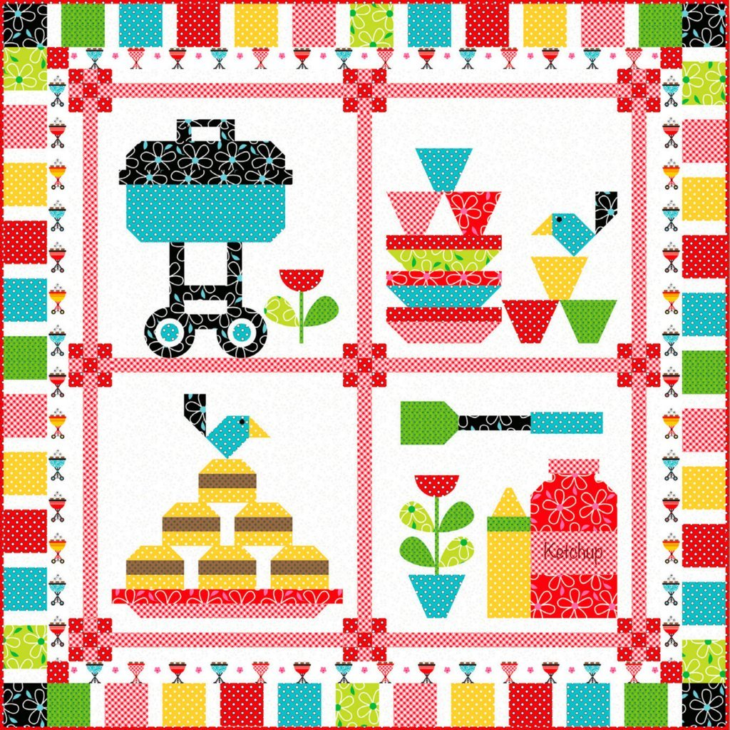 Cookout Quilt Kit - 50 x 50
