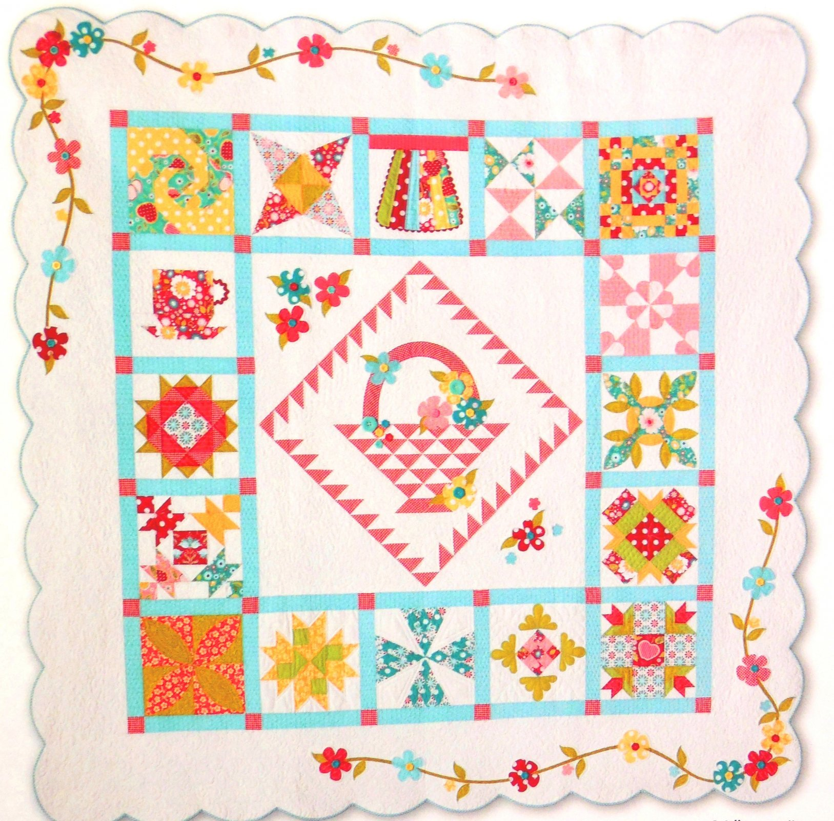 Quilting Ideas For Kitchen : El s Kitchen Quilt Kit - Apple of My Eye Fabrics