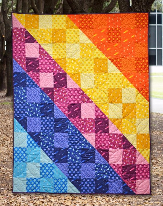 Northern Lights Quilt Kit - 60 x 72