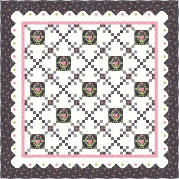 Nottingham Quilt Kit - 60 x 61