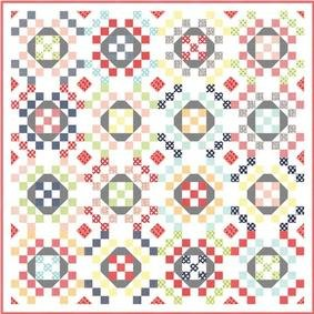 O Happy Day Quilt Kit - 76 x 76