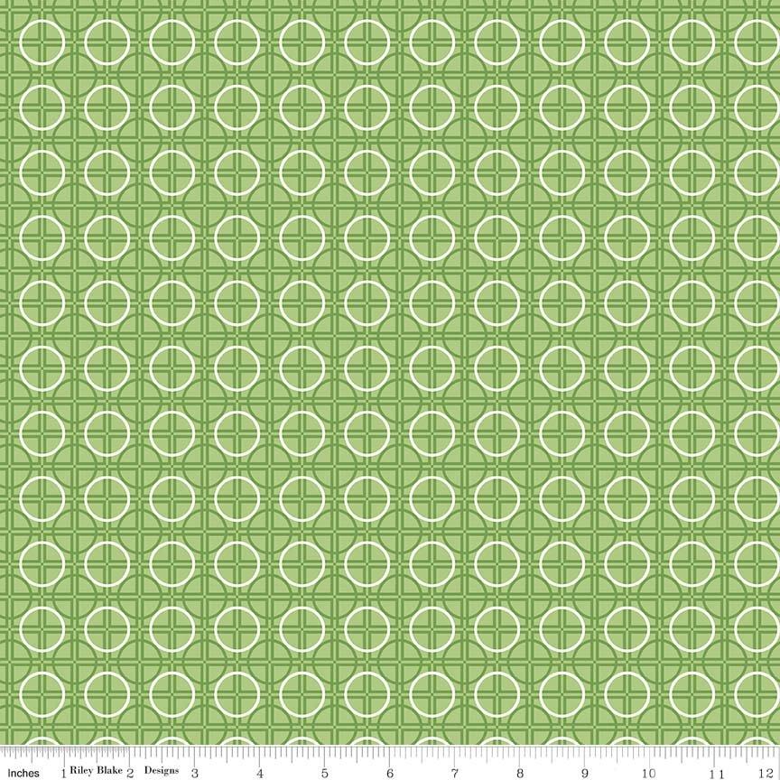 Bee Basics Circle Green