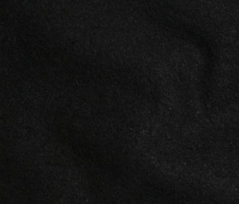 Boiled Wool/Viscose - Black