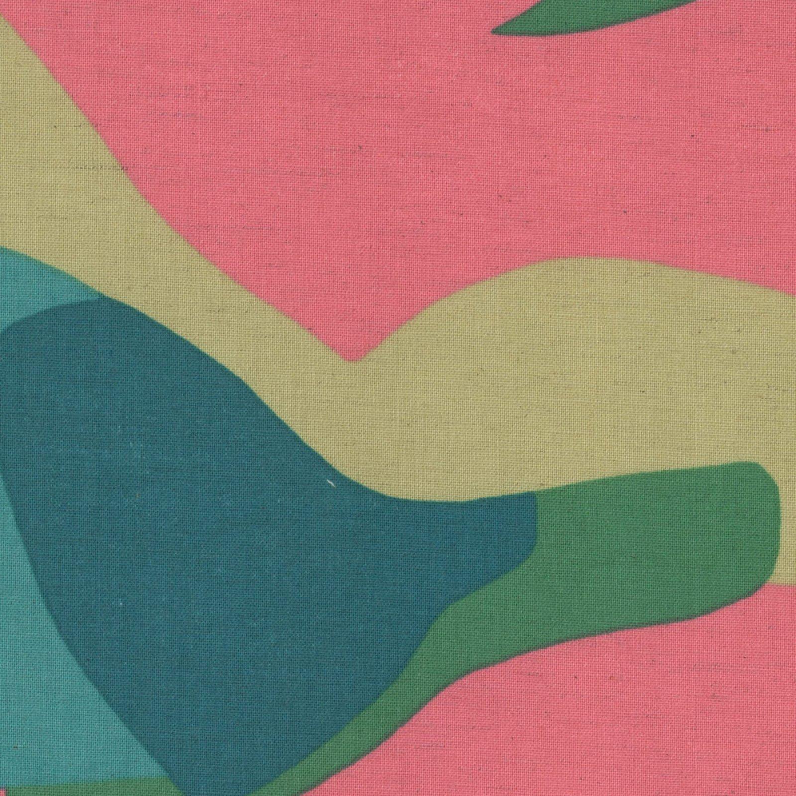 Kokka - Koto Thouin Cotton/Linen Sheeting - Pink