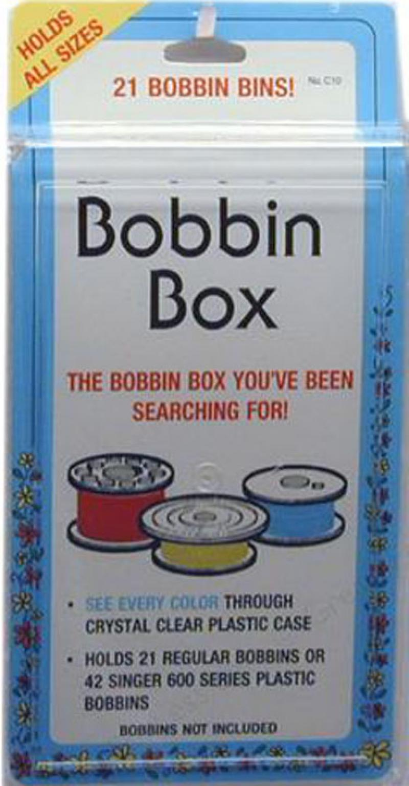 sewing machine bobbin storage