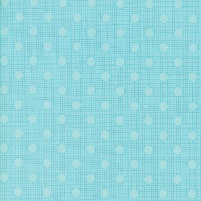Wing and Leaf by Gina Martin - Turquoise - Moda 10067 14