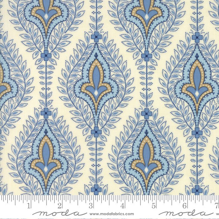 Grand Traverse Bay by Minick & Simpson - Floral Ivory - Moda 14820 11