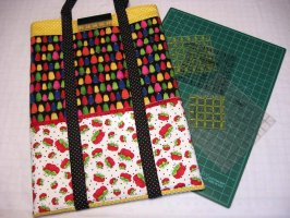 Ready, Set, Go - Mat and Ruler Bag Pattern