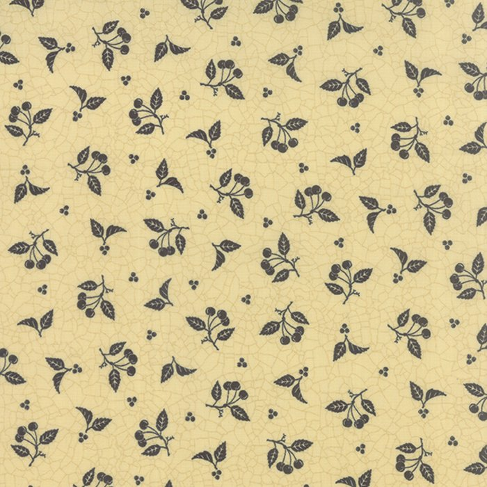 Sturbridge by Kathy Schmitz - Cherries Cream w/Navy - Moda 6074 14