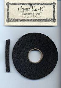 Chenille-It Blooming Bias 3/8 - Black