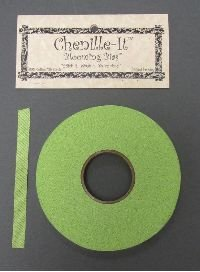 Chenille-It Blooming Bias 3/8 - Green Apple BY THE YARD