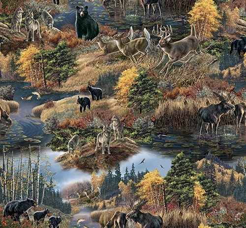 QT - Nature's Glory Scenic - Multi 23833-X