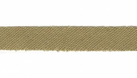 Chenille-It Blooming Bias 3/8 - Khaki BY THE YARD