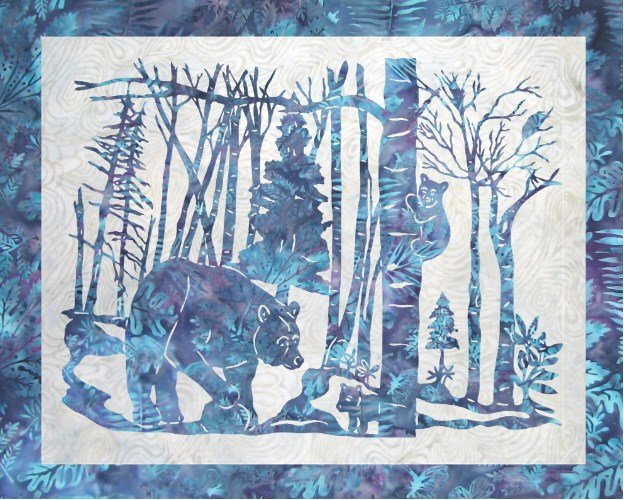 Black Bear-ies Pattern