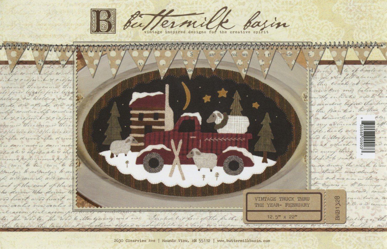 February Vintage Truck thru the Year Pattern