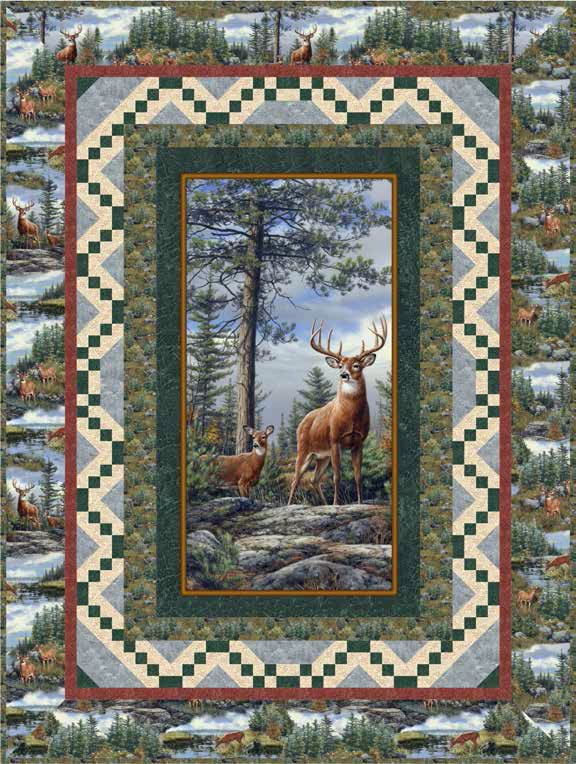 Deer Mountain Quilt Kit