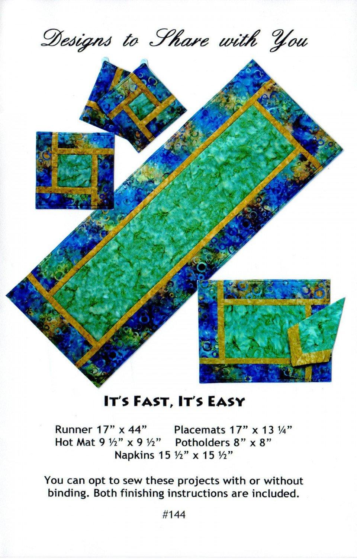 It S Fast It S Easy Pattern 700118394939
