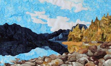 Glacier Park: Lake McDonald Reflections Pattern