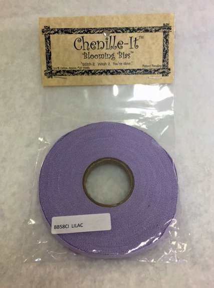 Chenille-It Blooming Bias 3/8 - Lilac