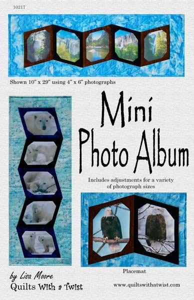 Mini Photo Album Pattern