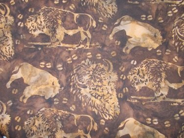 Hoffman Batiks - Buffalo N2876-6 Brown