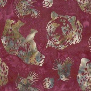 Hoffman Batik N2908-143 Ruby