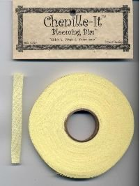 Chenille-It Blooming Bias 3/8 - Pale Yellow