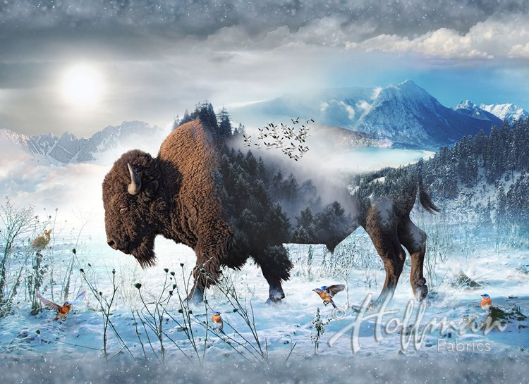 Call of the Wild - Bison PANEL