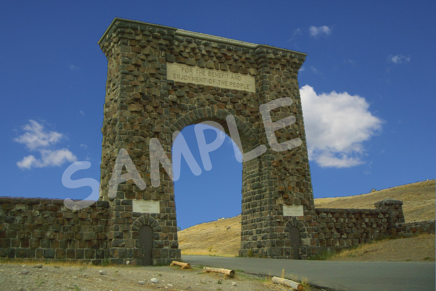 Roosevelt Arch Fabric Block