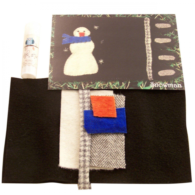 Mug Rug Snowman Kit