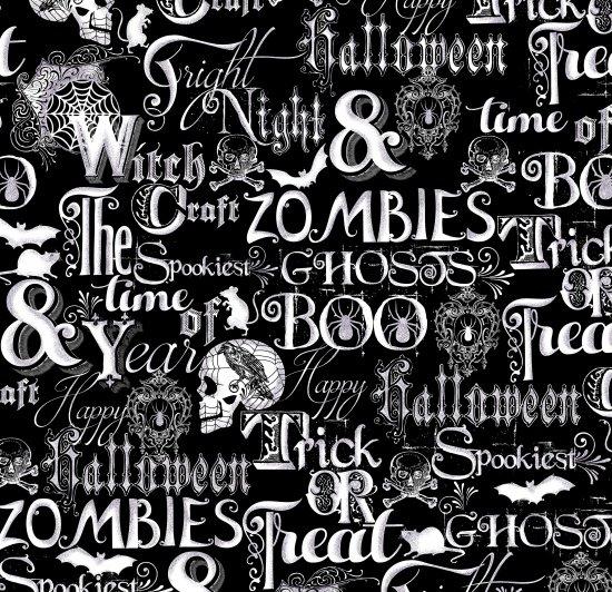 Fright Night Halloween Words 1106M-99