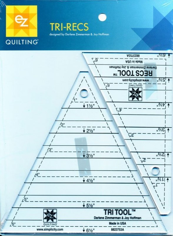 EZ Quilting Tri Recs