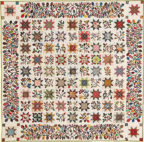 Stars & Sprigs Block of the Month - Only 1 Spot Left!!