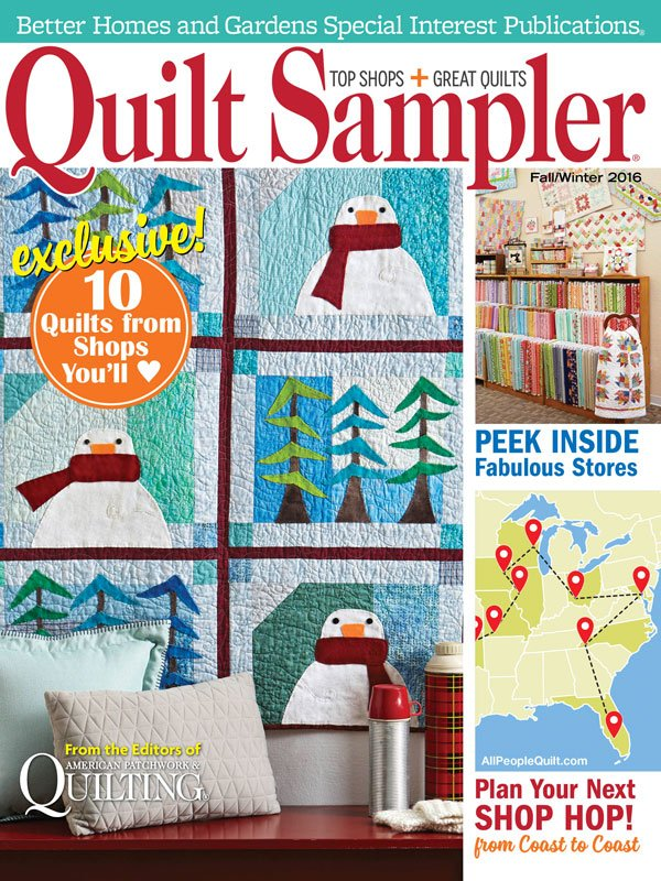 Quilt Sampler Magazine Fall 2016